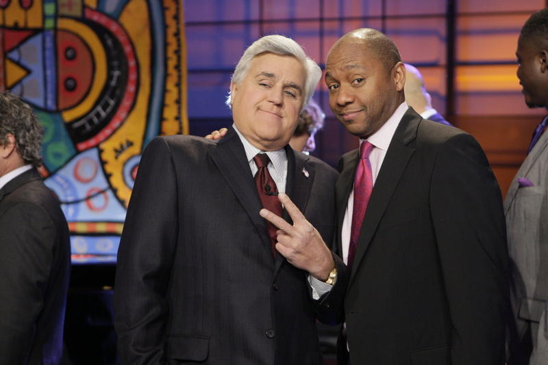 Marsalis with Jay Leno on The Tonight Show