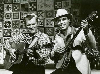 Doc Watson & David Holt on Fire On the Mountain 1984.