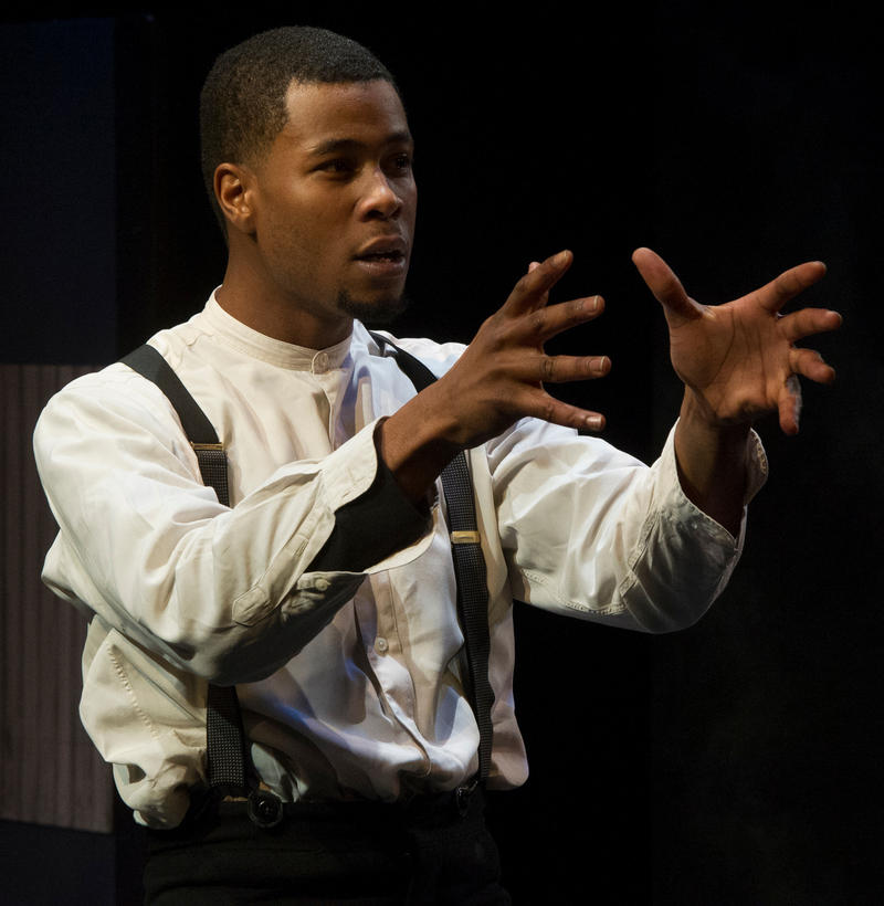 Image of actor Alphonse NIcholson playing the character Abel Green in Frieght.