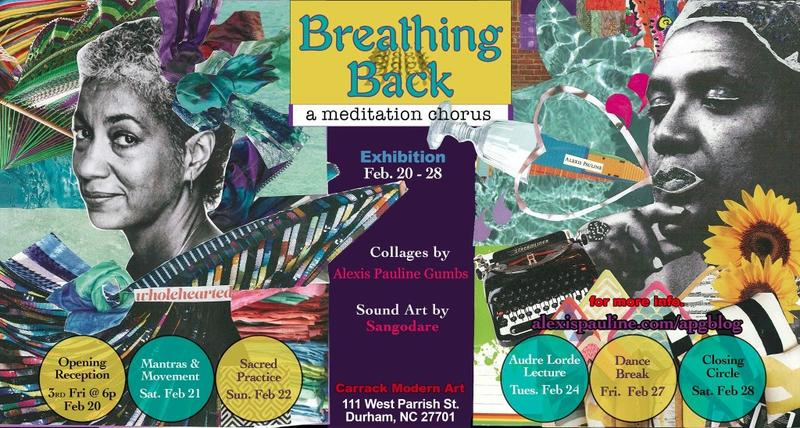 Breathing Back: A Meditation Chorus is now on display at The Carrack.