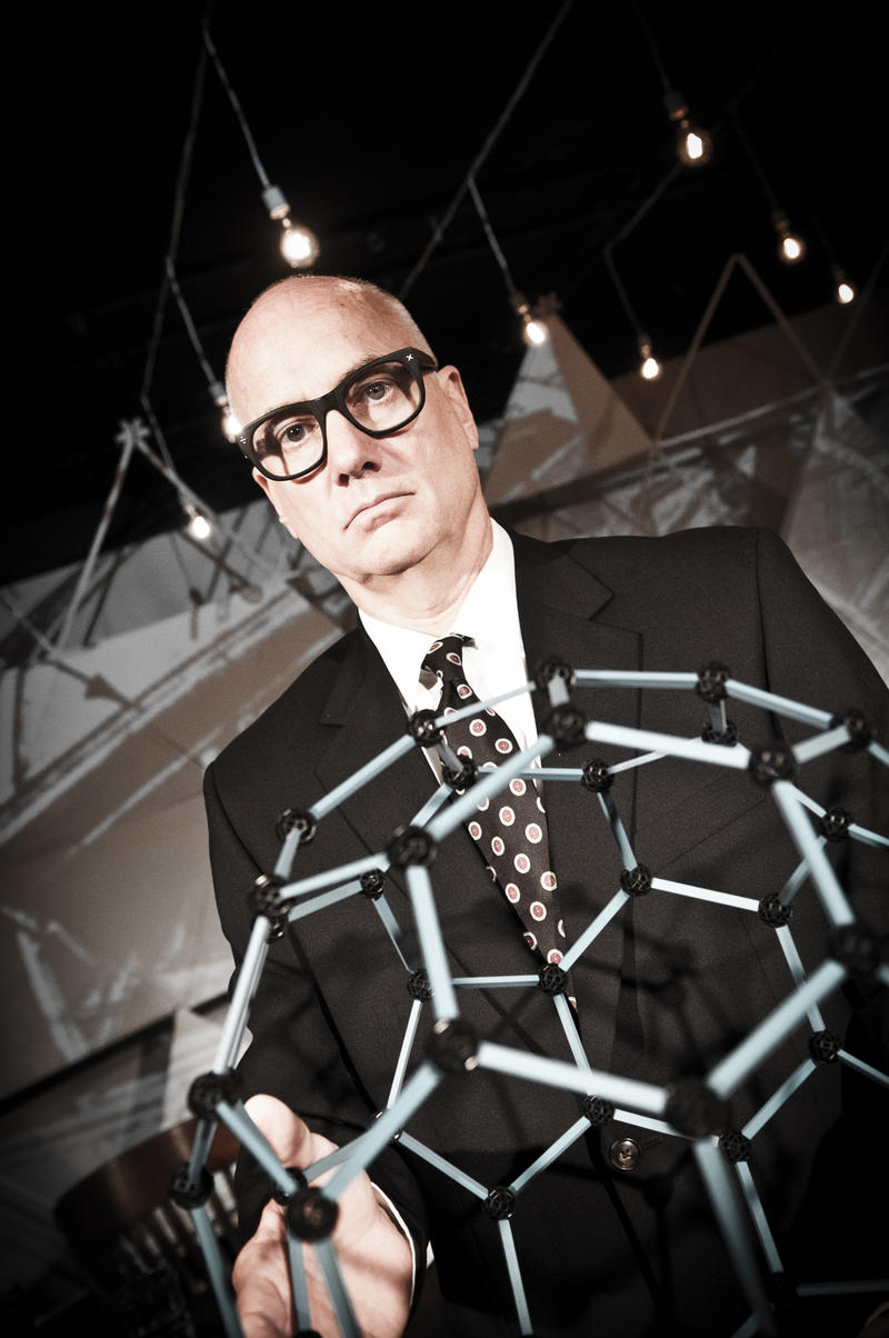 David Novak as Bucky Fuller.