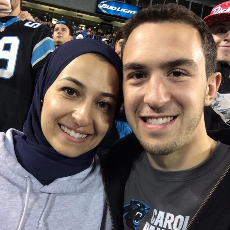 Deah Barakat and his wife, Yusor Abu-Salha