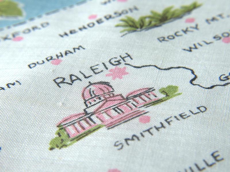 Photo: Map of North Carolina