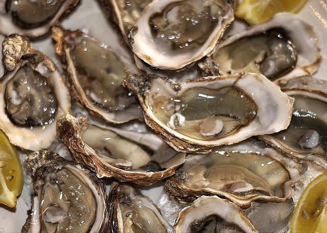 North Carolina's oyster sales doubled between 2005 and 2012.