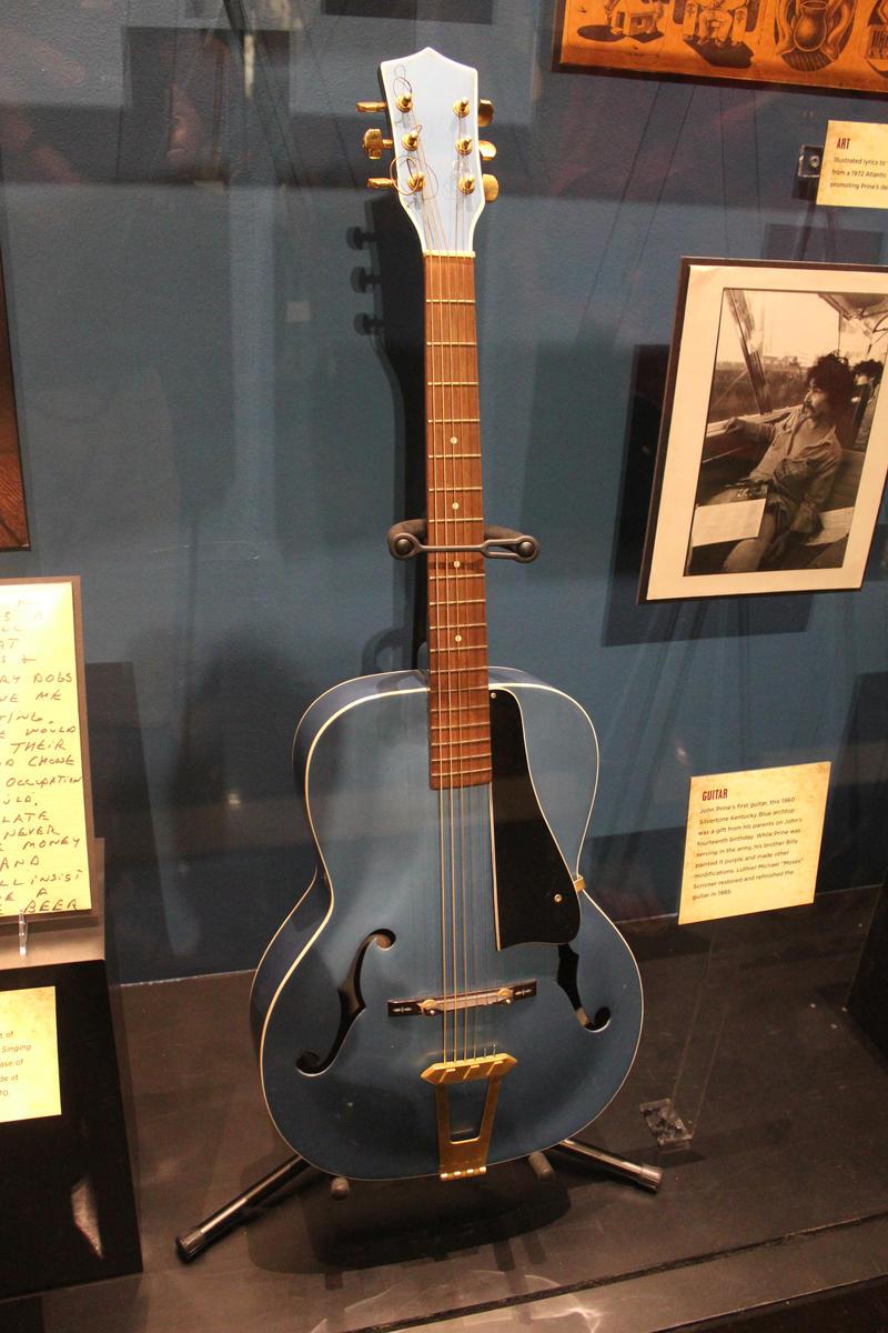 Image of John Prine's first guitar