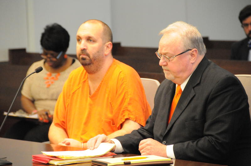Craig Stephen Hicks at an April 6th court hearing.