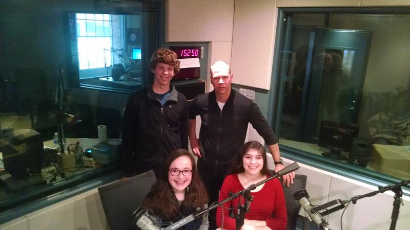 "Students at Carolina Friends School in Durham wrote and produced a radio drama called ""The Old House."""