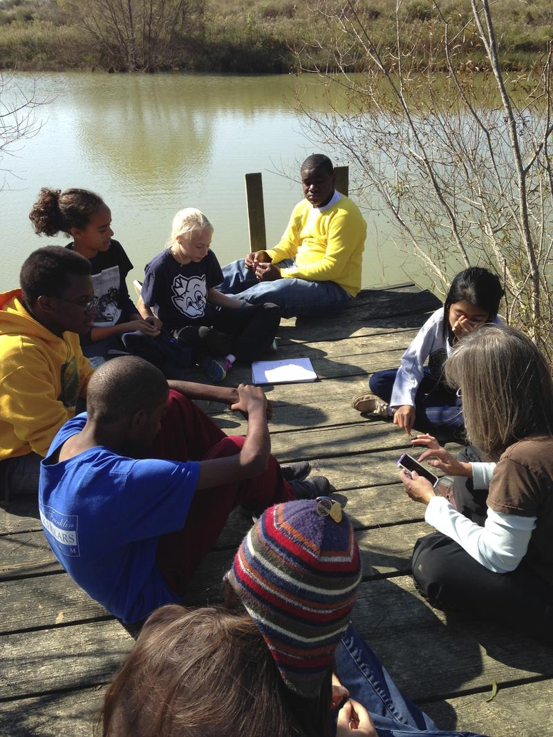 The John Hope Franklin Young Scholars attended two retreats to develop their plot and characters.