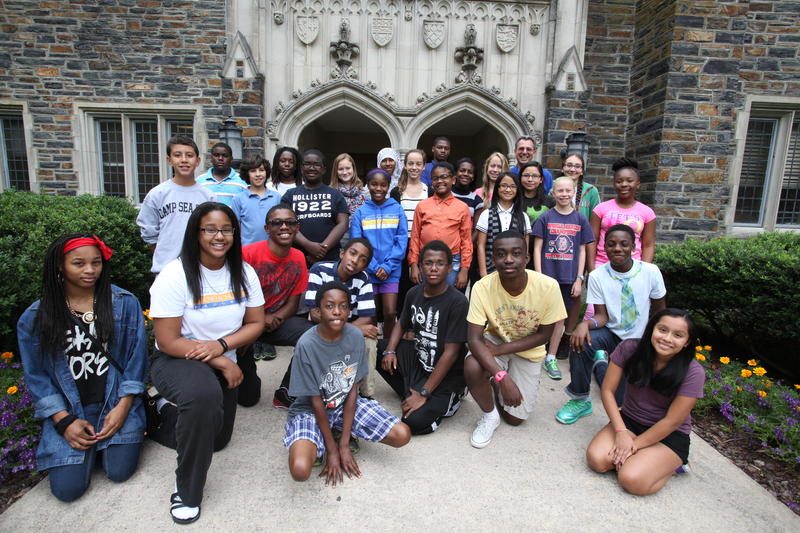 The John Hope Franklin Young Scholars worked together to write and published a novel about a Durham teenager.