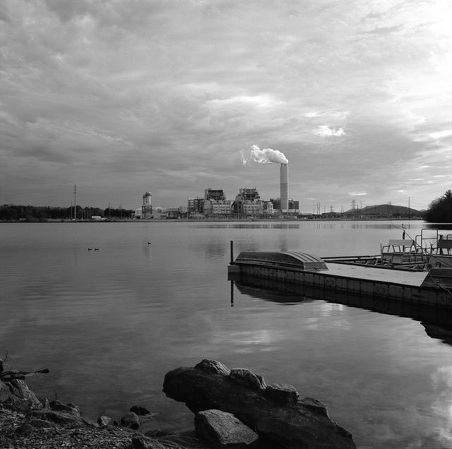 Photo: A Duke Energy coal-fired plant in Arden, N.C.