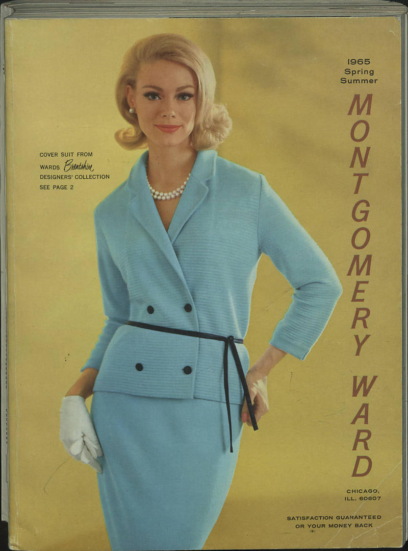 The cover of the 1965 Montgomery Ward catalog.