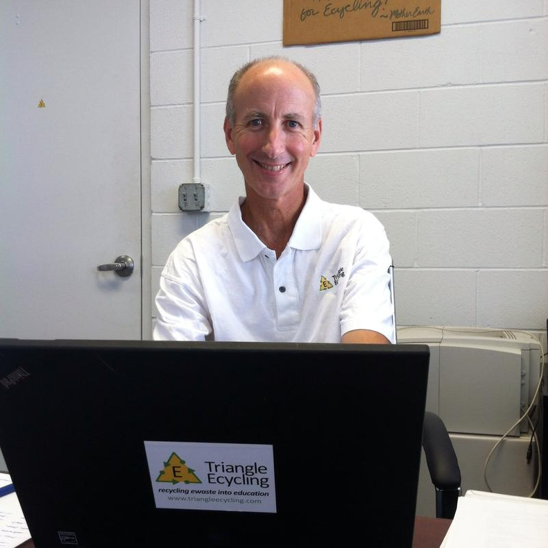 Larry Herst, founder of Triangle Ecycling.