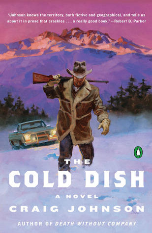Book cover to 'The Cold Dish' which was the first instalment of the Longmire Mystery Series.