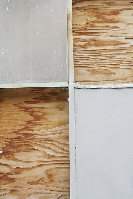 Window and Wooden Boards