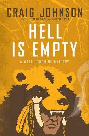 Anthor book from the Longmire Mystery Series - 'Hell Is Empty.'