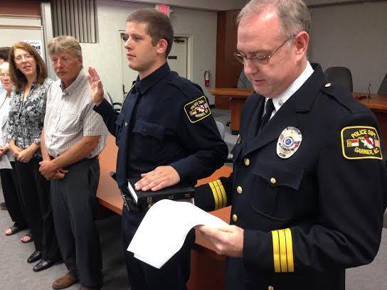 Garner Police Department, Police OFficers