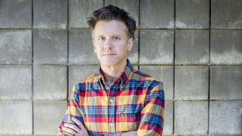Merge Records Co-Founder and Frontman for the indie band Superchunk, Mac McCaughan professional photo.