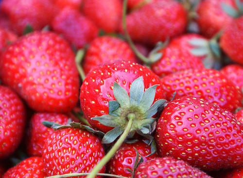 A picture of strawberries.