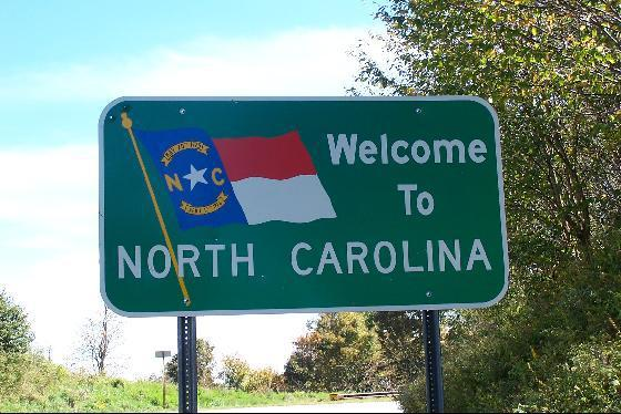 An image of North Carolina 'Welcome Sign'