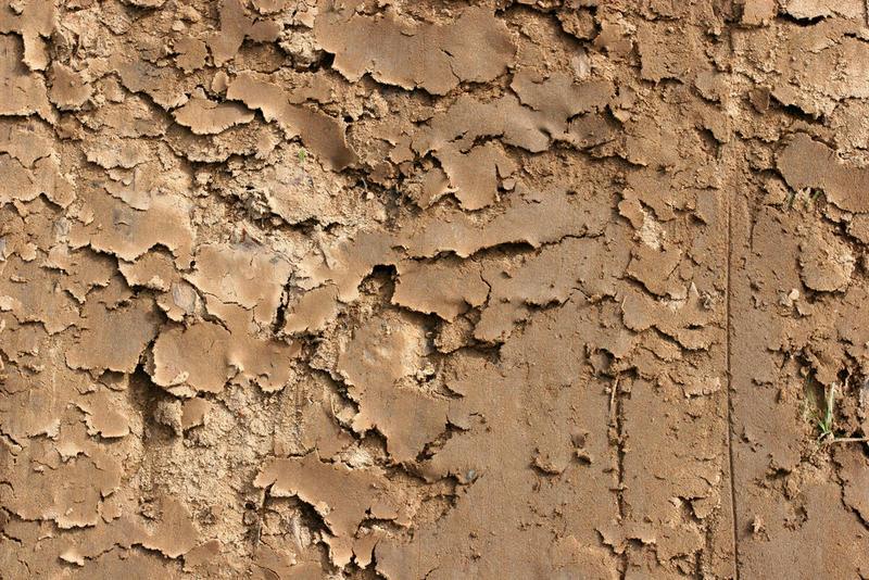 Dry soil image