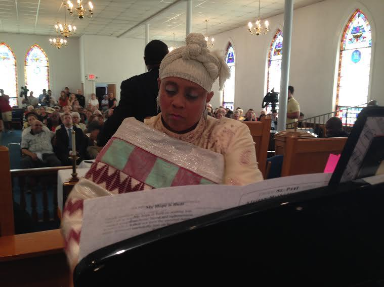 Deborah Woodward, St. Paul AME Church, Piano, Vigil