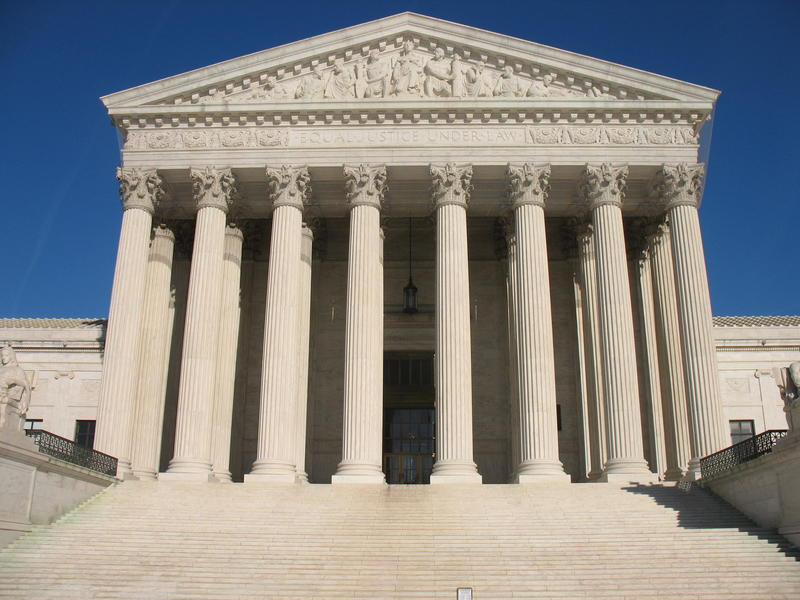 An image of the Supreme Court