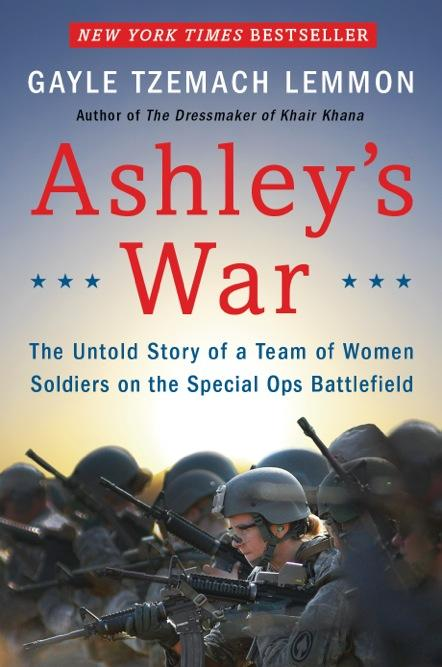 Image of the cover of Lemmon's new book 'Ashley's War'