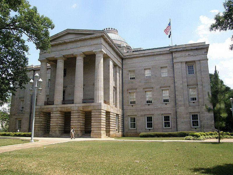 North Carolina State Capitol, Raleigh.
