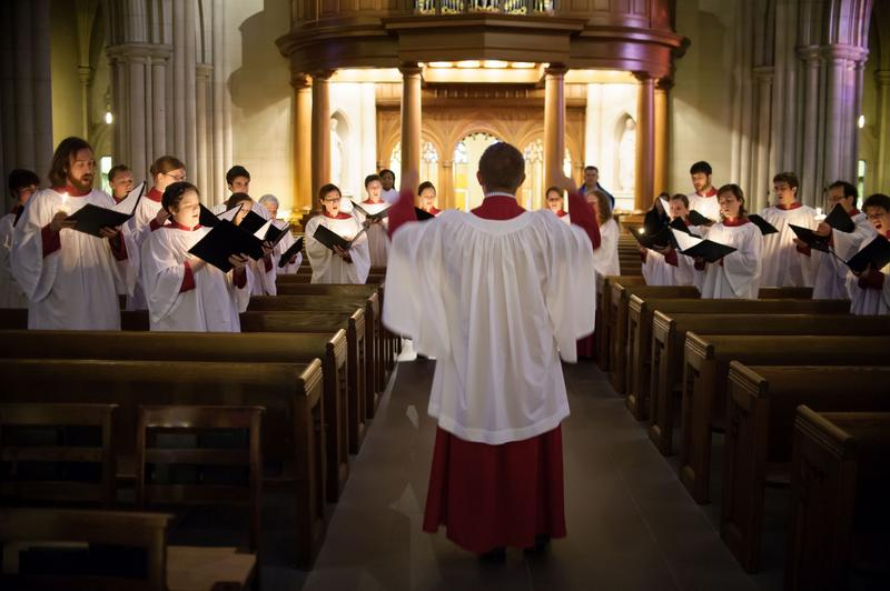 An image of the Duke Vespers Ensemble Choir
