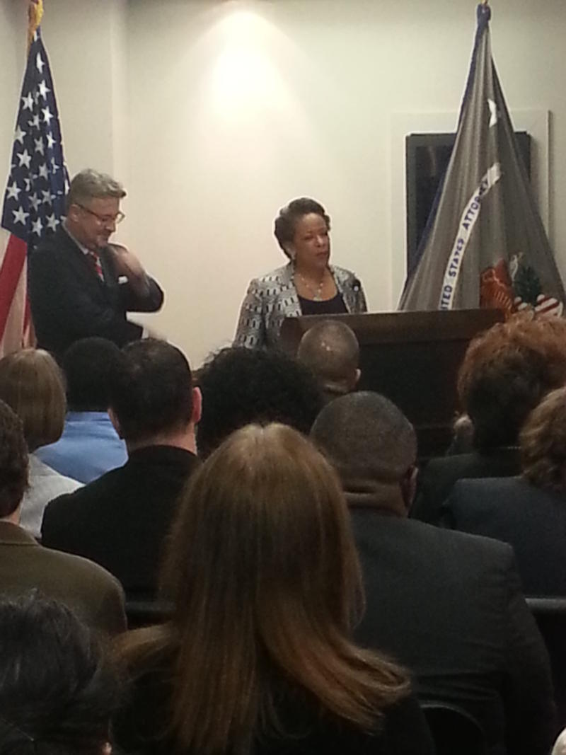 U.S. Attorney General Loretta Lynch says fighting human trafficking is one of her priorities.