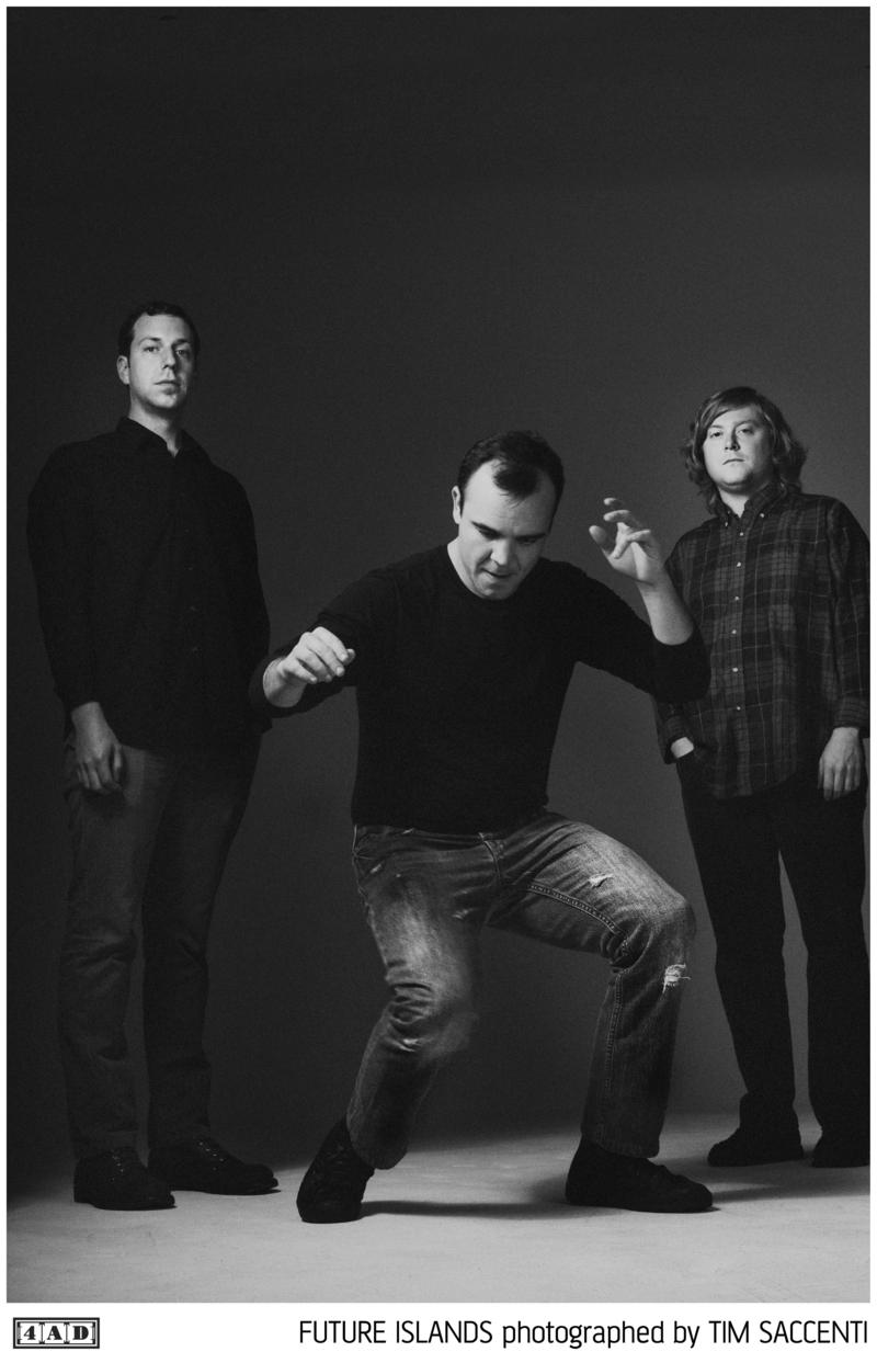 An image of the music group Future Islands