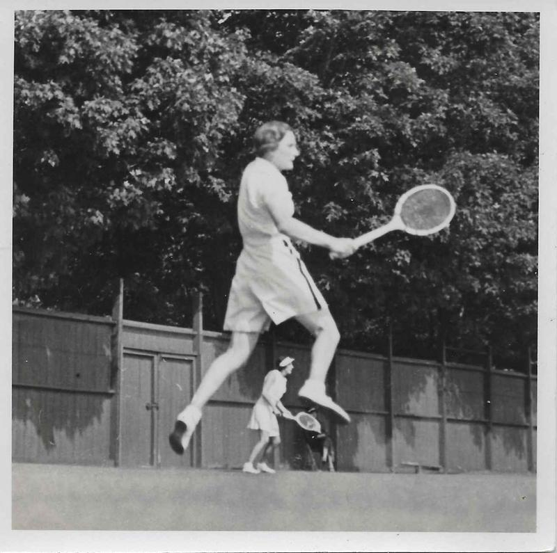 Image of Henrietta Bingham's lover and tennis champion, Helen Hull Jacobs, from the mid-1930s.
