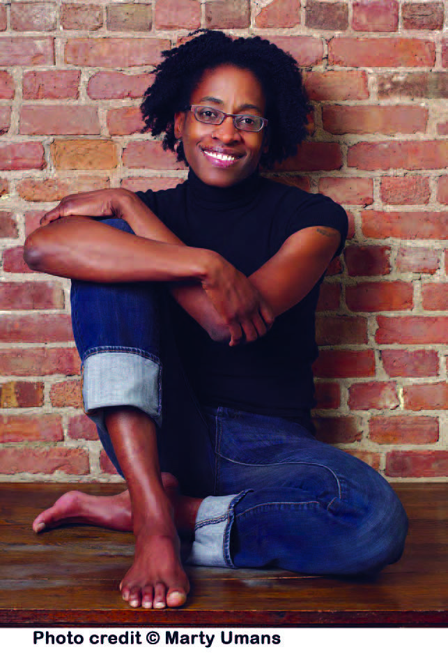 Image of Jacqueline Woodson, who is an award-winning author, used her life experiences growing up in South Carolina as the basis for her memoir, 'Brown Girl Dreaming.'