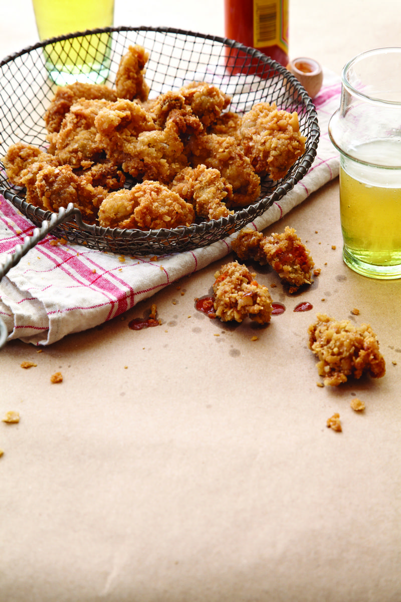 Image of fried oysters by Sheri Castle