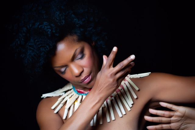 Image of Nnenna Freelon, who is a six-time Grammy nominated jazz vocalist.