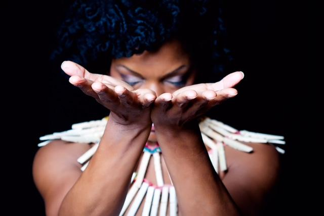 Image of Nnenna Freelon, who stars in 'The Clothesline Muse'