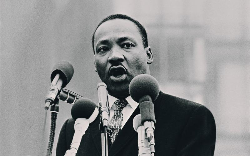 An image of MLK