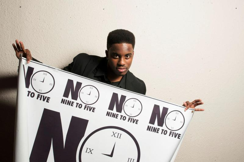 Josh Rowsey, known as J. Rowdy on stage, is part of a Chapel Hill hip hop collective called no9to5.