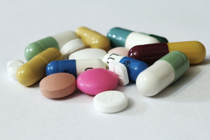 A picture of assorted pills.