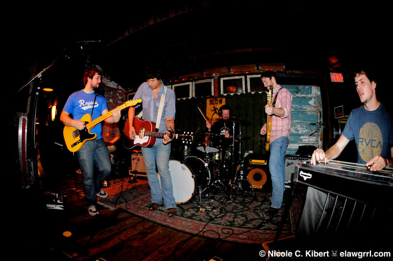 American Aquarium performing in 2011 at New World Brewery, Ybor City, Tampa, FL.