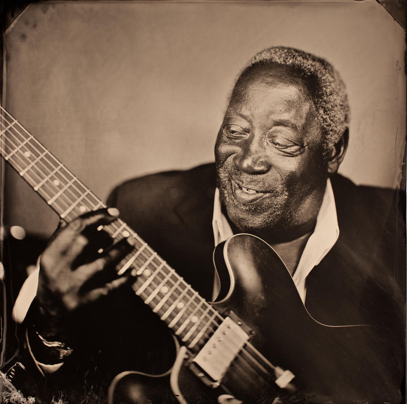 An image of blues musician Albert White