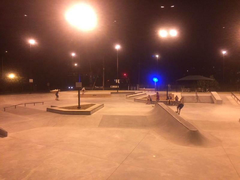 An image of a skatepark in Apex