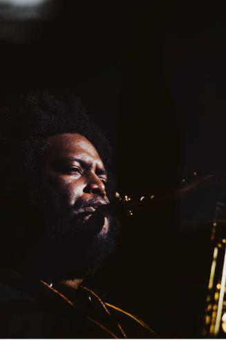 Jazz musician Kamasi Washington