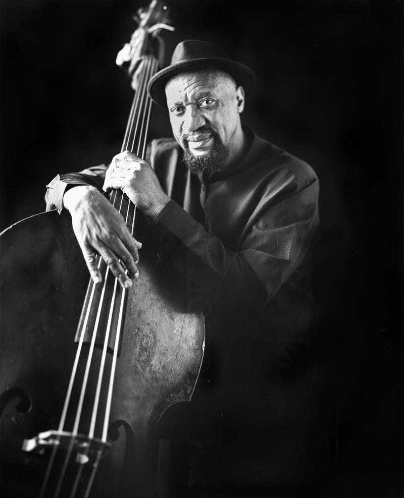 An image of bass player Nashid Abdul