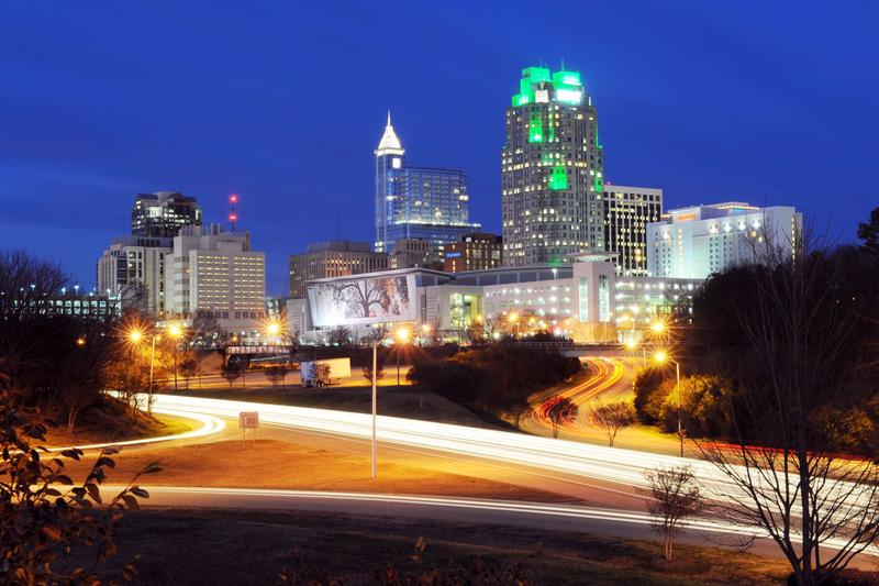 An image of downtown Raleigh