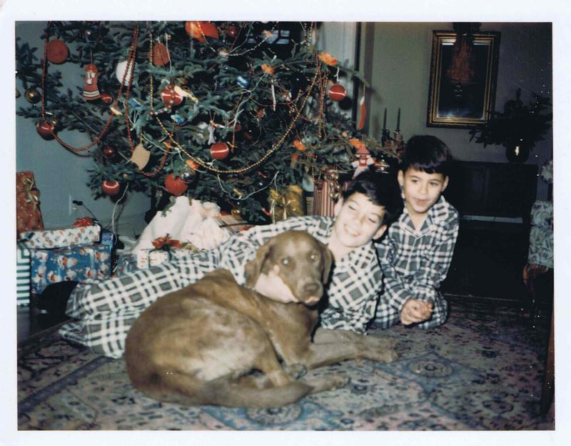 Image of Christmas with the Paynes in the mid-1960s.