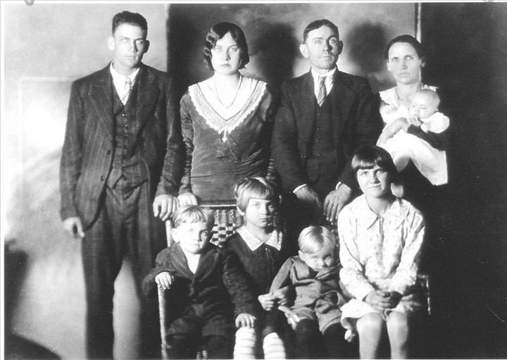 An image of the Lawson family