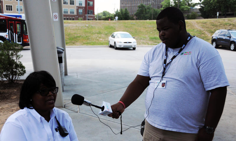 Youth Reporter Marcus Williams interviews Veronica Terry on what the N-word means to her.