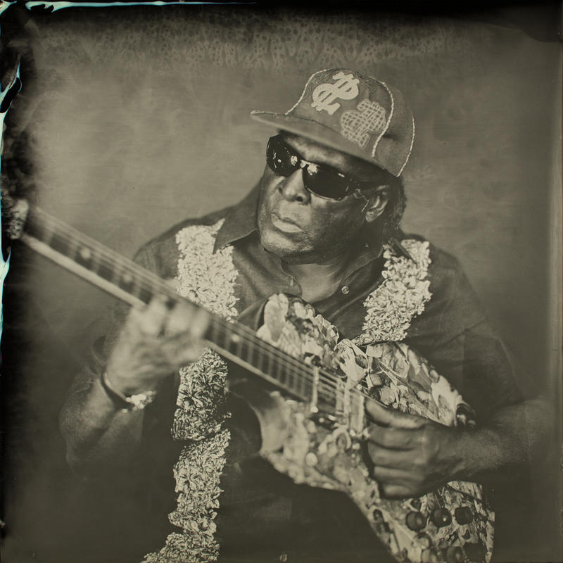 An image of blues guitarist Peewee Hayes