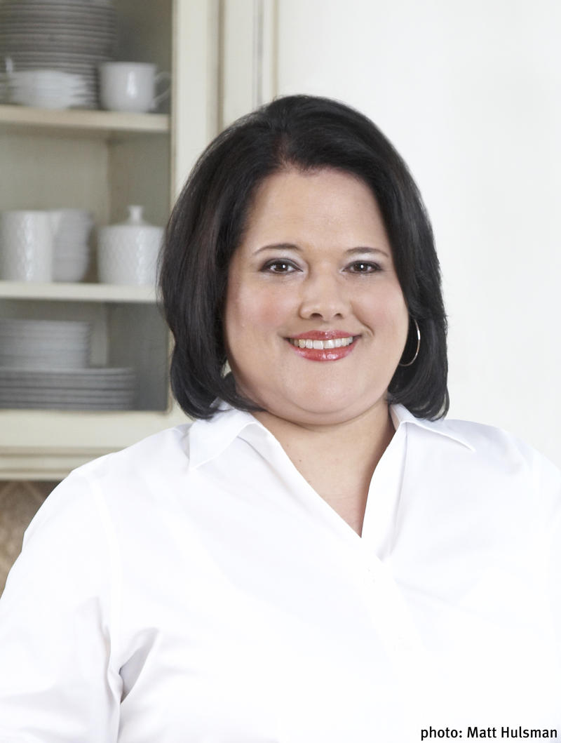 Sandra Gutierrez is the author of 'Beans and Field Peas' and other cookbooks looking at Latin American and southern cuisine.